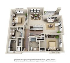 Find your two bedroom apartment at Millenia 700 Sims House Plans, Small House Floor Plans, House Layout Plans, House Layouts, Home Building Design, Home Room Design, Building A House, Pool House Designs, Sims House Design