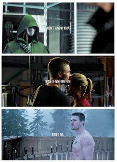 Arrow - Oliver and Felicity #3.9 #Season3 #Olicity ♥
