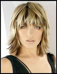 Image result for Choppy Medium Length Hairstyles Shag