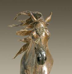 Conquistador Bronze Sculpture by J Anne Butler