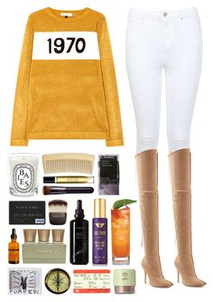 """5.150"" by katrina-yeow ❤ liked on Polyvore featuring Bella Freud, Miss Selfridge, Balmain, AERIN, Diptyque, Byredo, Shiseido, Korres, Hourglass Cosmetics and Dr. Jackson's"
