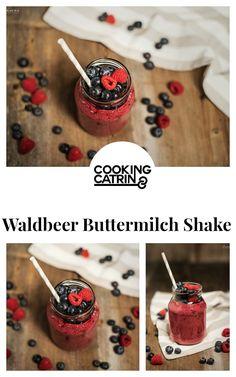 ... Shake, Waldbeer Shake, buttermilk shake, berry shake, healthy
