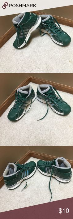 Adidas Pro Model Women's Basketball Shoes worn but still in decent condition. adidas Shoes Athletic Shoes