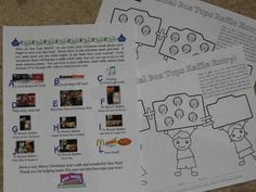 I am so excited about our next box tops raffle.  Before Christmas break the students will go home with the letter and custom collection sheets showing our new school logo.  Each completed collection sheet = 1 raffle entry.  The raffle items are lettered so the younger students can easily ID the item they would like to be entered to win.  The raffle will run for 2 weeks in January!  Good Luck my Box Tops Heroes- keep clipping!