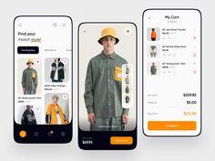 Android App Design, App Ui Design, Mobile App Design, Page Design, Ecommerce App, Directory Design, Mobile App Ui, Interactive Design, Shirts