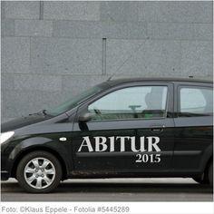 Autoaufkleber und Sticker ABITUR 2015