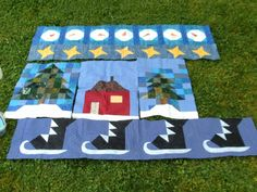 Trifle Quilt Pattern | ... pattern/tutorial. I am just using fabrics from my scrap baskets for