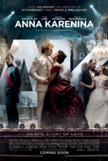 Anna Karenina (Joe Wright, 2012, Universal Pictures International, United Kingdom and France)