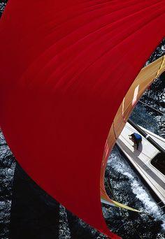 Nippon, Red, Sail, Ph. Franco Pace