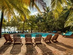 What a view to have first thing in the morning!  We love Belizean sunrises at Hamanasi!