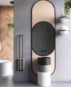 28 Bathroom Wall Decor Ideas to Increase Bathroom's Value Minimalist bathroom interior! Bathroom Wall Decor, Bathroom Interior Design, Bathroom Faucets, Decor Interior Design, Modern Bathroom, Washroom, Bathroom Ideas, Bathroom Mirrors, Minimalist Bathroom Design