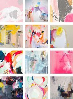 favorite abstract painting - art prints - parima studio