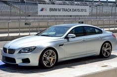 BMW M6 Gran Coupe This could be very much the most attractive BMW on production, such an elegant design...