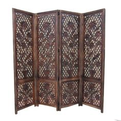 "Handcrafted Hardwood Room Divider Or Privacy Screen - Six Feet Tall, 80"" Wide ITDC http://www.amazon.com/dp/B008SNY9SK/ref=cm_sw_r_pi_dp_hO7xvb0RQP1X8"