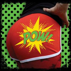Roller Derby Shorts Roller Derby Hotpants Pow Red by Inkabilly, £16.99