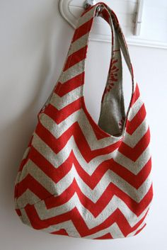 Reversible bags - about 1 hour to make & 1/2 yard each of coordinating fabric.  I am so thinking this is a stash buster!
