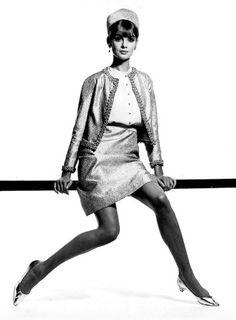 Photo David Bailey, 12/1965, Jean Shrimpton, Vogue.