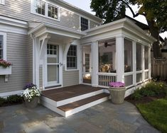 Traditional Homes With Screen Porches Design, Pictures, Remodel, Decor and Ideas - page 12