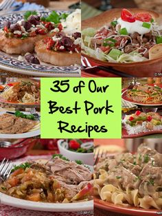 I must try these, they look very good lol-35 Best Pork Recipes