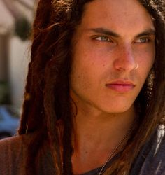 Samuel Larsen ... I cannot explain why I love this guy.  Maybe it's the dreds, the eyes, his singing voice, who knows? I just love him.