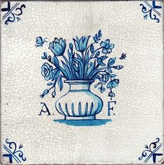 delft tile | Paul Bommers | A.F.- Angela Flanders