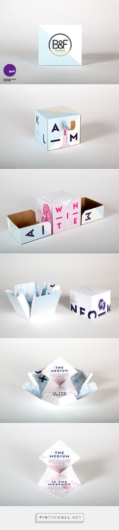 B&F Papers - New Packaging Board Range Promotion on Behance by Mat Bogust