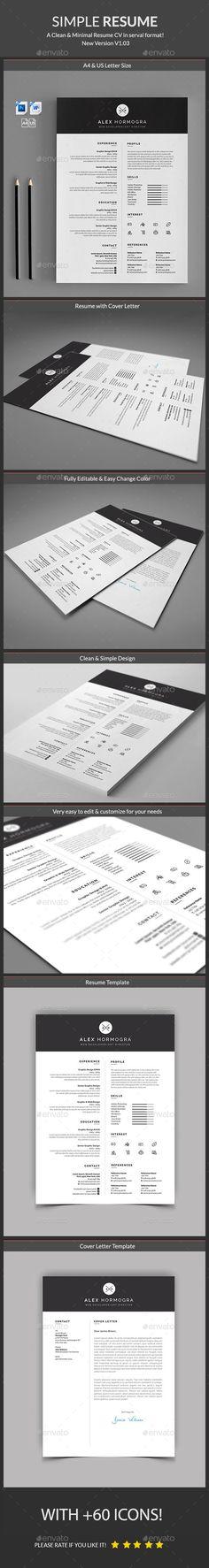 Resume Template PSD, MS Word. Download here: https://graphicriver.net/item/resume/17166267?ref=ksioks