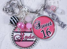 Auntie Gifts, Sweet 16 Gifts, Birthday Gifts, Etsy Shop, Unique Jewelry, Handmade Gifts, Check, Birthday Presents, Kid Craft Gifts