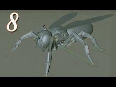 Cinema 4D Tutorials Robot Wasp Modeling & Rigging par 8 - YouTube