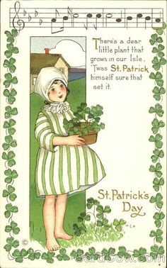 706 best antique st patricks day images on pinterest in 2018 vintage st patricks day postcard m4hsunfo