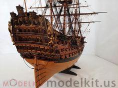 wooden model ship HMS Royal William