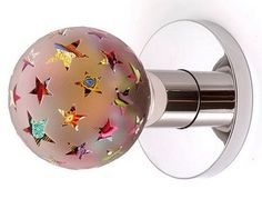 This glass globe door knob would be the perfect addition to a world ...