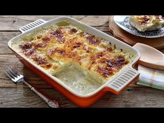 Gratinated potatoes (CC Eng Sub) Lasagna, Quiche, Mashed Potatoes, Macaroni And Cheese, French Toast, Brunch, Food And Drink, Dinner, Breakfast