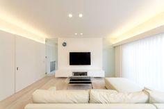白い外観内装の家・間取り(大阪府大東市)  ローコスト・低価格住宅   注文住宅なら建築設計事務所 フリーダムアーキテクツデザイン