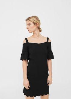 df4620726ad7 Kleid - Damen   MANGO Deutschland Damen, Kleider, Mango Mode,  Bogenrandkante, Sommer