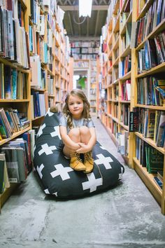 She's so sweet and our cross bean bag chair is just perfect for her! Kids C, Bag Chairs, Kids Decor, Home Decor, Classic Furniture, Poufs, Cool Rooms, Ottomans, Kids Furniture