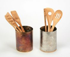 Stainless Steel Utensil Holder -Eco friendly decorations for your kitchen.