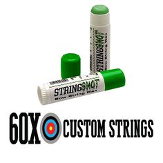 Protect your bowstring with string snot bow string wax. Order today at 60X Custom Bow Strings to receive fast & free shipping