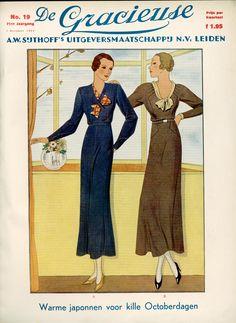 De Gracieuse cover, 1933