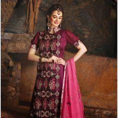 Fancy and Dashing Anarkali Salwar Kameez MJ 487 16167