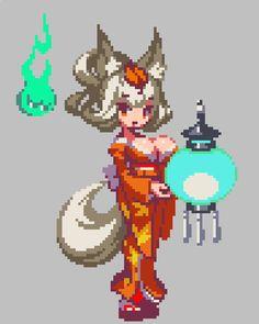 Cool Pixel Art, Anime Pixel Art, Cool Art, Pixel Life, Character Art, Character Design, Pix Art, Pixel Characters, Pixel Animation