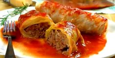 Cabbage Rolls – Healthy To Fit Boiled Cabbage, Cooking White Rice, Sauce Tomate, Canned Tomato Sauce, Cabbage Rolls, Rib Recipes, Turkey Recipes, Pressure Cooker Recipes, Slow Cooker
