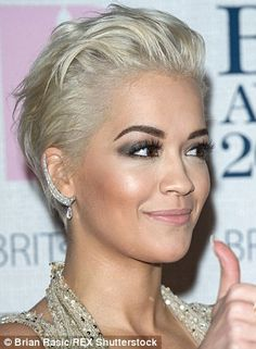 Voice judge Rita Ora turns heads at the Brits with Lorraine Schwartz diamonds (price on application)