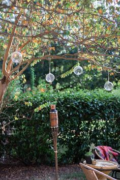 Wedding Ideas: Hanging Lights! Boho backyard birthday party lighting. Styling and rentals by Birch & Brass in Austin, TX. Photography by J. Noel Photography.