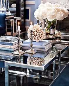Interior coffetable styling decor