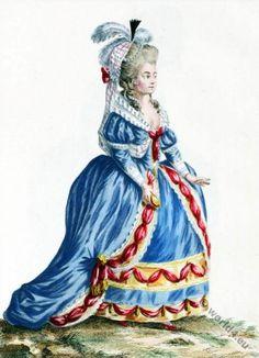 Jeune Actrice dans le Jaloux d'Estramadure.