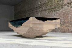 Stolík sklo-drevo3