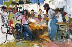 Joaquín Sorolla y Bastida (Spain 1863-1923) 'Net...