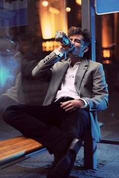 I LIKE PHOTO/ De La Garza/ Fashion/ men/ suit