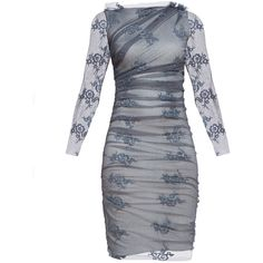 SILVER LAME AND EMBROIDERED MESH DESIGNER DRESS ❤ liked on Polyvore featuring dresses, silver cocktail dresses, cocktail dresses, long embroidered dress, sheer embroidered dress and silver dresses